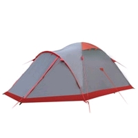 Фото 1 к товару Палатка четырехместная Tramp Montain 4