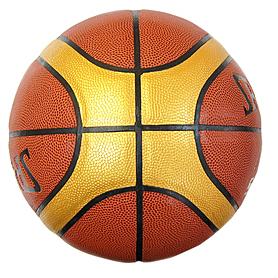 Фото 2 к товару Мяч баскетбольный (кожа) Spalding