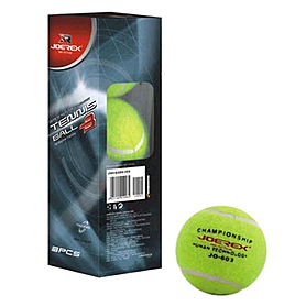 Распродажа*! Мячи для большого тенниса Joerex (3 шт)