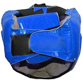 Фото 2 к товару Шлем с пластиковой маской кожанный Matsa