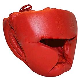 Шлем тренировочный Matsa PVC красный