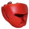 Шлем тренировочный Matsa PVC красный - фото 1