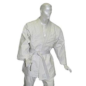 Кимоно для дзюдо Combat Budo белое, размер - 180 см - уцененное*