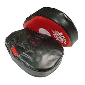 Фото 3 к товару Лапы изогнутые Кобра кожаные World Sport