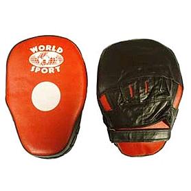 Фото 4 к товару Лапы изогнутые Кобра кожаные World Sport