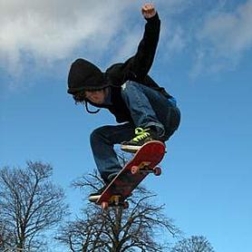 Скейтборд алюминиевый