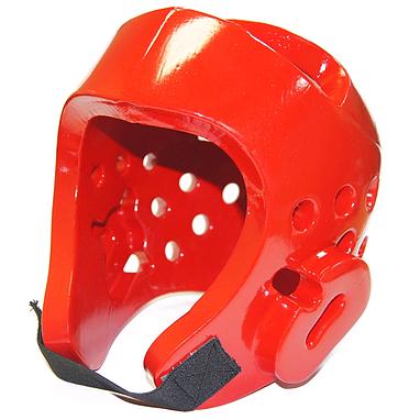 Шлем для тхэквондо WTF красный