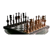 Фото 1 к товару Фигуры шахматные (дерево). Ручная работа