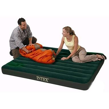 Кровать-матрас туристическая полуторная Intex 66927 (191х99x22 см)