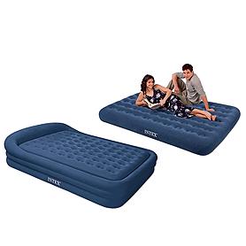 Фото 1 к товару Кровать надувная двуспальная Intex 66974 (241х180x56 см)
