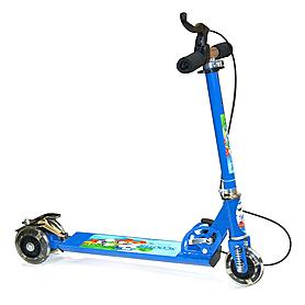 """Самокат детский трехколесный Scooter """"Малыш-3"""" голубой"""