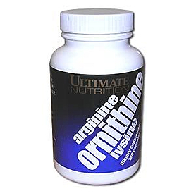 Фото 1 к товару Аминокомплекс Ultimate Nutrition Arginine-Ornithine-Lysine (100 капсул)