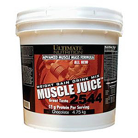 Фото 2 к товару Гейнер Ultimate Nutrition Muscle Juice (2,25 кг)