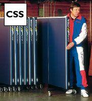 Фото 2 к товару Стол теннисный складной Stiga Expert Roller CSS