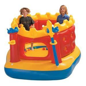 Игровой центр надувной детский Intex 48258 Jump-O-Lene Castle Bouncer