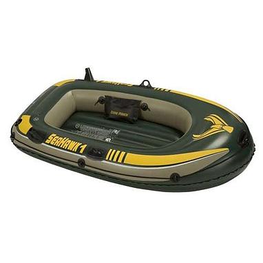 Лодка надувная SeaHawk Intex 68345 + насос Intex в подарок