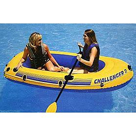 Лодка надувная Challenger 2 Intex 68367 2018