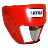 Шлем тренировочный PU Matsa красный - фото 1