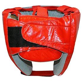 Фото 2 к товару Шлем тренировочный PU Matsa красный