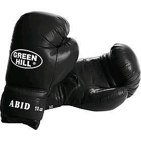 Фото 1 к товару Перчатки боксерские Green Hill Abid черные