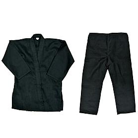 Фото 1 к товару Кимоно для карате Combat Budo черное