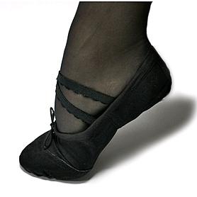 Фото 4 к товару Балетки танцевальные