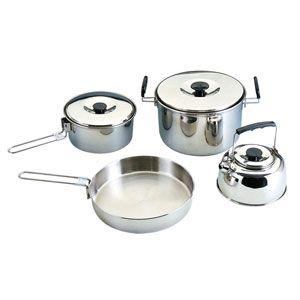 Набор стальной  посуды походный Кемпинг