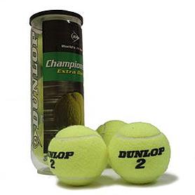 Мячи для большого тенниса Dunlop Championship Extra Duty (3 шт)