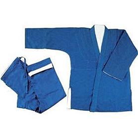 Кимоно для дзюдо повышенной плотности двухстороннее - 160 см