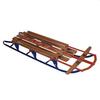 Санки металлические с деревянным сидением Snow Sleds - фото 1