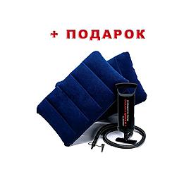 Фото 3 к товару Матрас надувной Intex 68765 (203х152х23 см) + подарок
