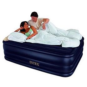 Кровать надувная полуторная Intex Rising Comfort 66718 (203х152х56см)
