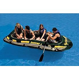 Фото 2 к товару Лодка надувная Seahawk 4 Intex 68350