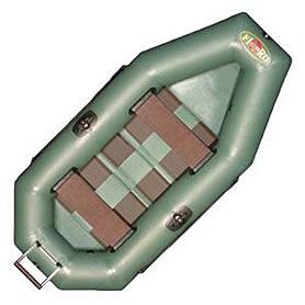 Фото 2 к товару Лодка портативная надувная Fisher 255 tr