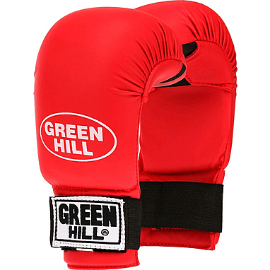 Накладки для карате Green Hill Cobra красные