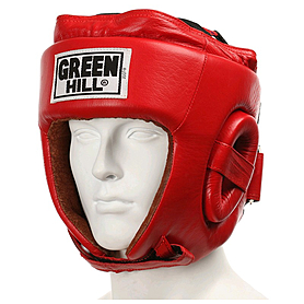 Шлем боксерский Green Hill Five Star (красный) - M