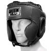 Шлем боксерский Green Hill Club черный - фото 1