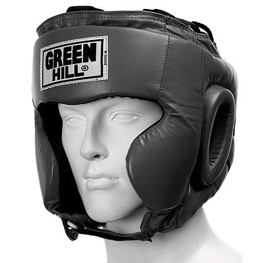 Шлем боксерский Green Hill Club черный