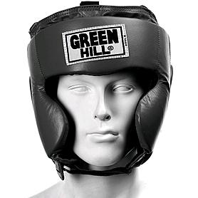 Фото 2 к товару Шлем боксерский Green Hill Club черный