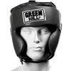 Шлем боксерский Green Hill Club черный - фото 2