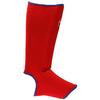 Защита для ног (голень+стопа) трикотажная Green Hill красная - фото 1