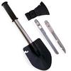 Лопата-мультиинструмент туристическая (лопата, топор, нож, пила) - фото 1