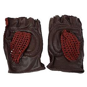 Перчатки спортивные вязаные Joerex (кожа)