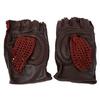 Перчатки спортивные вязаные Joerex (кожа) - фото 1
