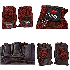 Фото 2 к товару Перчатки спортивные вязаные Joerex (кожа)