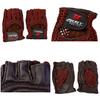 Перчатки спортивные вязаные Joerex (кожа) - фото 2