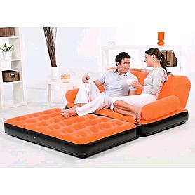 Диван-трансформер надувной 5 в 1 Bestway 67356 оранжевый