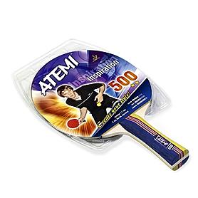 Фото 1 к товару Ракетка для настольного тенниса Atemi 500C 2 звезды