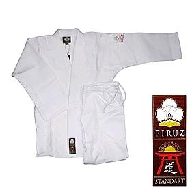 Распродажа*! Кимоно для дзюдо Firuz Standart белое, размер - 150 см