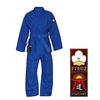 Кимоно для дзюдо Firuz Standart синее - фото 1